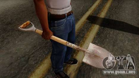 Original HD Shovel para GTA San Andreas