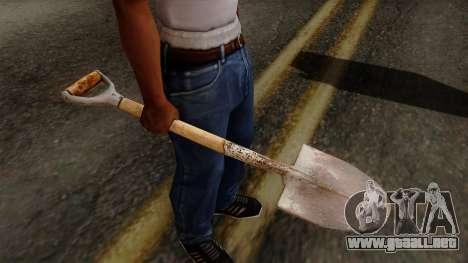 Original HD Shovel para GTA San Andreas