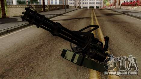 Original HD Minigun para GTA San Andreas