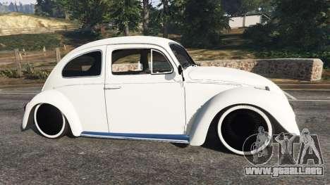 GTA 5 Volkswagen Beetle vista lateral izquierda