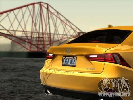 Ex3-111 ENB Series para GTA San Andreas sucesivamente de pantalla