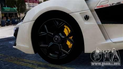 Lykan Hypersport 2015 EPM para GTA 4