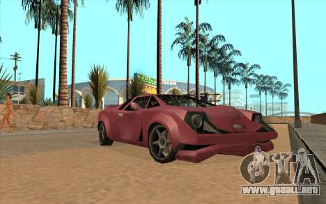 GTA VC Infernus SA Style para GTA San Andreas left