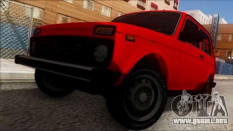 VAZ 2121 Niva BUFG Edición para la vista superior GTA San Andreas