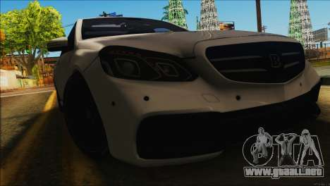 Mercedes-Benz E63 Brabus BUFG Edition para GTA San Andreas left