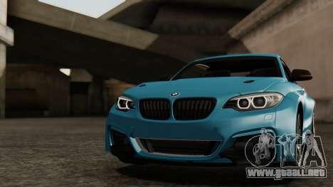 BMW M235i F22 Sport 2014 para el motor de GTA San Andreas