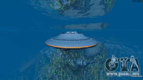 GTA 5 UFO Mod 1.1 noveno captura de pantalla