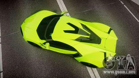 Lykan HyperSport 2014 [EPM] para GTA 4 visión correcta