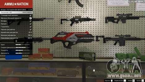GTA 5 M-76 Revenant из de Mass Effect 2 segunda captura de pantalla