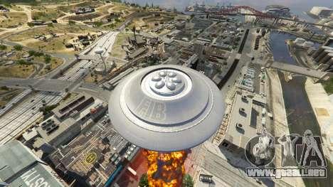 GTA 5 UFO Mod 1.1 octavo captura de pantalla