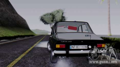 Dacia 1301 Securitate para GTA San Andreas left