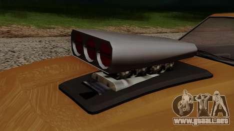 GTA 5 Declasse Vigero para visión interna GTA San Andreas