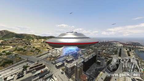 GTA 5 UFO Mod 1.1 séptima captura de pantalla
