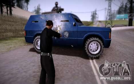 El Coche Blindado. para la visión correcta GTA San Andreas