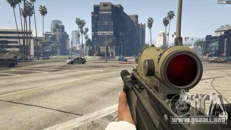 Battlefield 3 G36C v1.1 para GTA 5