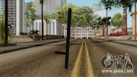 Original HD Night Stick para GTA San Andreas segunda pantalla