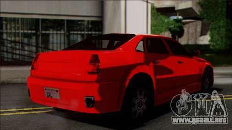 Chrysler 300C SA Style para GTA San Andreas left