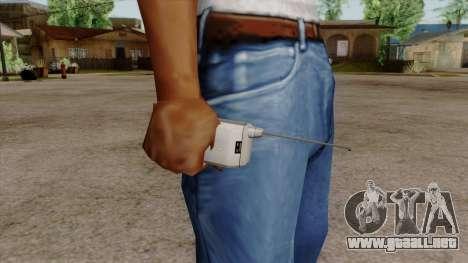 Original HD Cell Phone para GTA San Andreas tercera pantalla