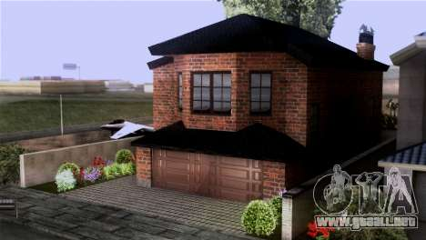 CJs New Brick House para GTA San Andreas