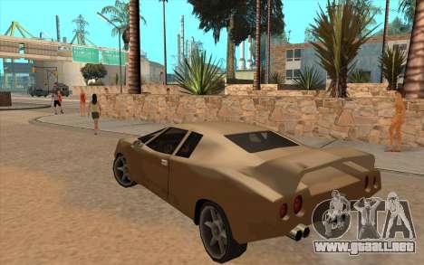 GTA VC Infernus SA Style para visión interna GTA San Andreas