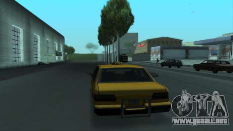 New Taxi para GTA San Andreas interior