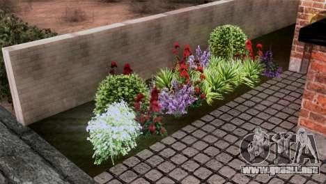 CJs New Brick House para GTA San Andreas sucesivamente de pantalla