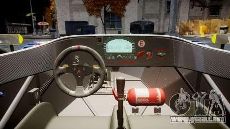 Radical SR8 RX 2011 [829] para GTA 4 vista hacia atrás