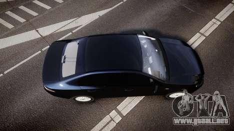 Ford Falcon FG XR6 Unmarked NSW Police [ELS] para GTA 4 visión correcta