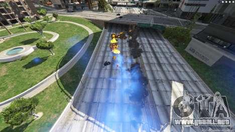 GTA 5 UFO Mod 1.1 tercera captura de pantalla
