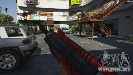 GTA 5 M-76 Revenant из de Mass Effect 2 tercera captura de pantalla