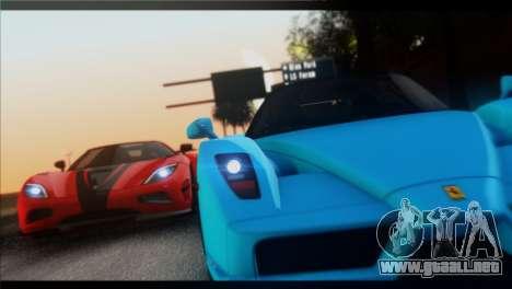 Saturation ENBSeries para GTA San Andreas segunda pantalla