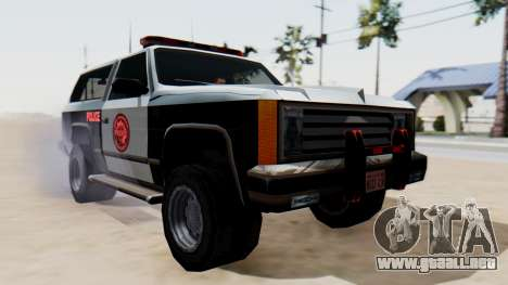Police Ranger with Lightbars para GTA San Andreas