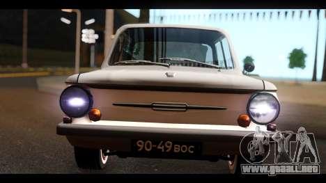 ZAZ Y para la visión correcta GTA San Andreas