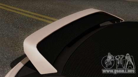 Audi A1 Quattro Clubsport para GTA San Andreas vista hacia atrás