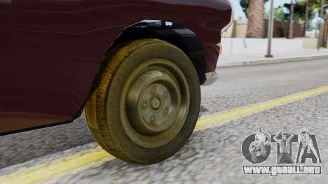 Peugeot 404 Camioneta para GTA San Andreas vista posterior izquierda
