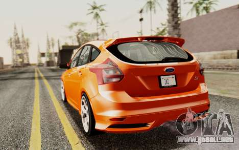 Ford Focus ST 2012 para GTA San Andreas left