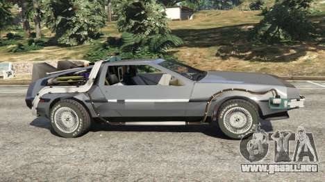 DeLorean DMC-12 Back To The Future v0.1 para GTA 5
