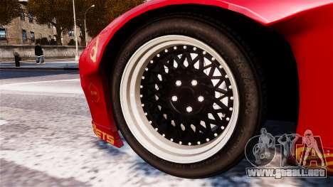 Mazda RX-7 RocketBunny EPM para GTA 4 Vista posterior izquierda