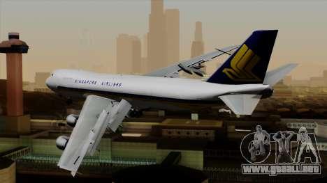 Boeing 747 Singapore (Old) para GTA San Andreas left