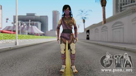 [MKX] Mileena para GTA San Andreas segunda pantalla