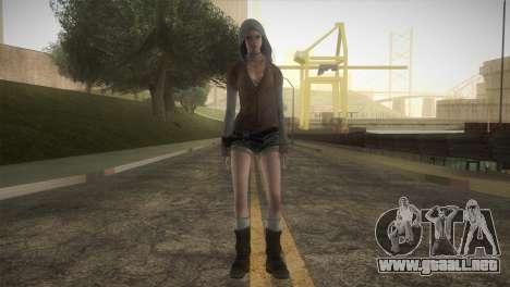Kat from DMC para GTA San Andreas segunda pantalla