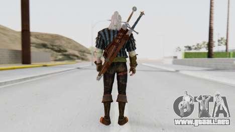 [The Witcher] Geralt para GTA San Andreas tercera pantalla