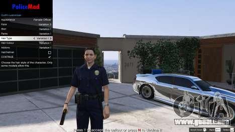 GTA 5 PoliceMod 2 2.0.2 quinta captura de pantalla