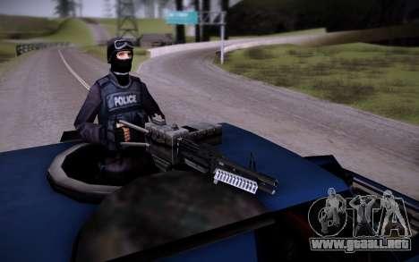 El Coche Blindado. para visión interna GTA San Andreas