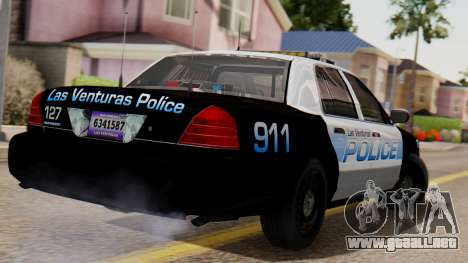 Police LV 2013 para GTA San Andreas left