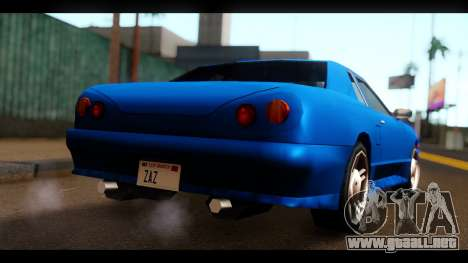 New Elegy by HEPBEH para GTA San Andreas left