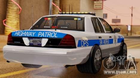 Police Ranger 2013 para GTA San Andreas left