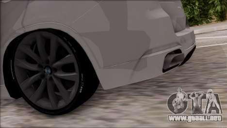 BMW X5 F15 BUFG Edition para visión interna GTA San Andreas