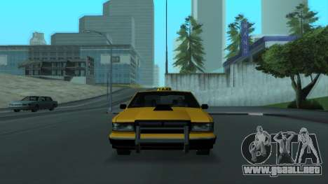 New Taxi para vista inferior GTA San Andreas