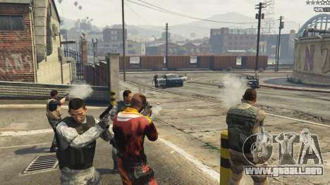 GTA 5 Battleground: Armored Packs v2.3.1 quinta captura de pantalla